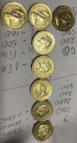Монеты 1 pound Королева Єлизавета II (1983 - 2010) 1983 - 40 *3=120 ua