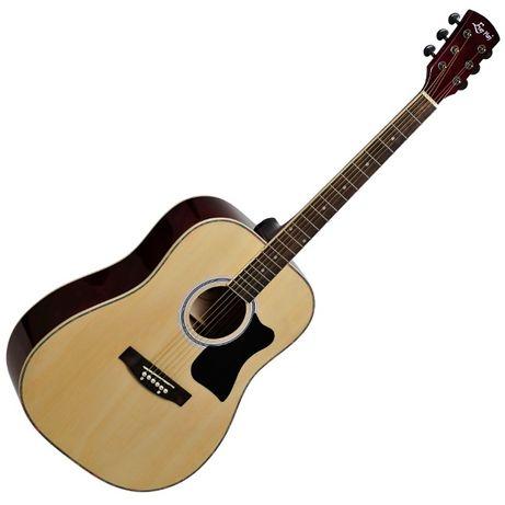 Gitara akustyczna Ever Play AP-400 N +pokr+tuner