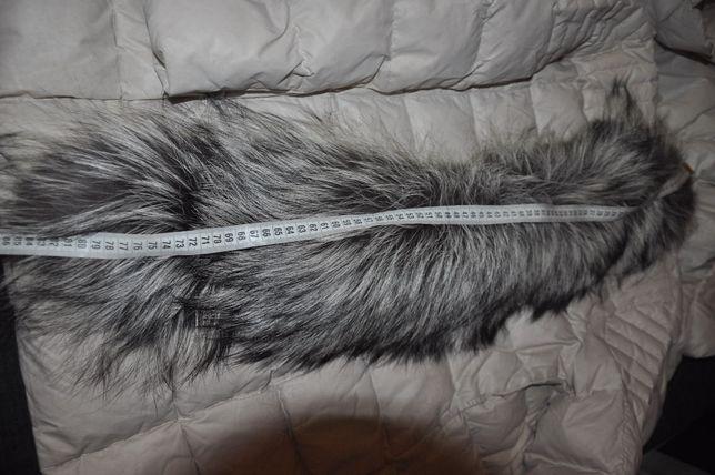 Продам натуральный воротник из длинноворсной чернобурки