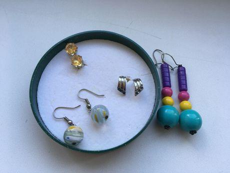 Сережки Кульчики Біжутерія