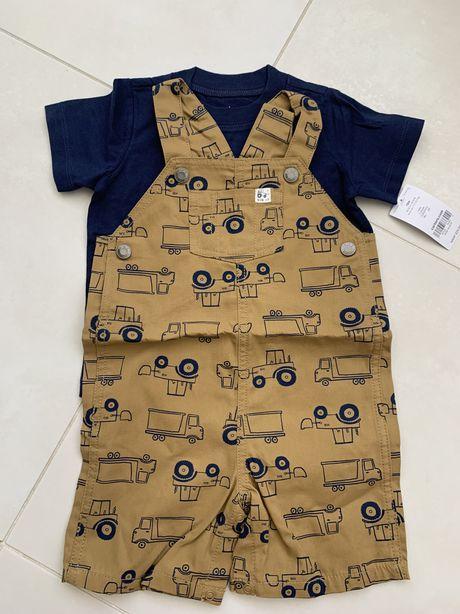 Набор carters (футболка и комбинезон) 18м