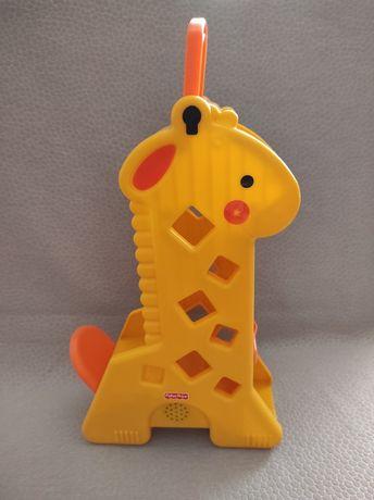Чудо жираф фишер прайс сортер fisher price органайзер