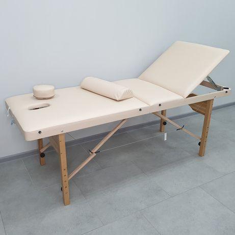 Стол массажный топчан кушетка для косметологии и массажа 3 секции