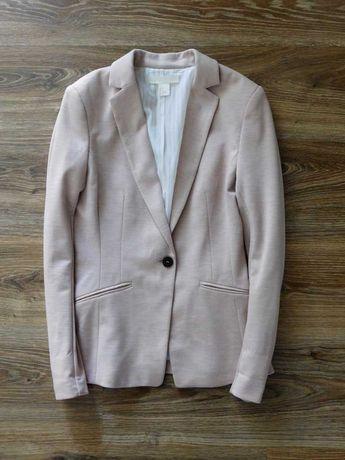 Базовый блейзер жакет пиджак на одну пуговицу от h&m