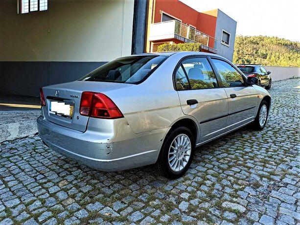 Honda Civic VII 1.4 90cv de 2002 com Apenas 89 mil kms