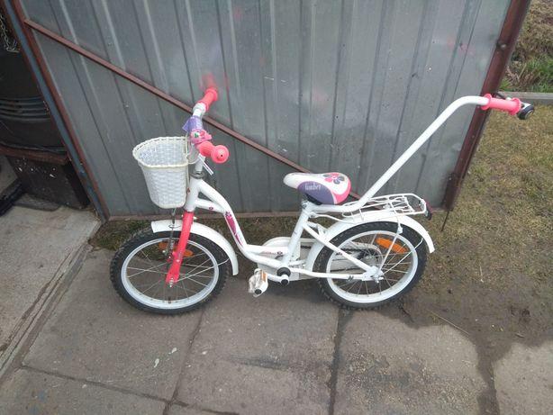 Rowerek 16 cali dziewczynka