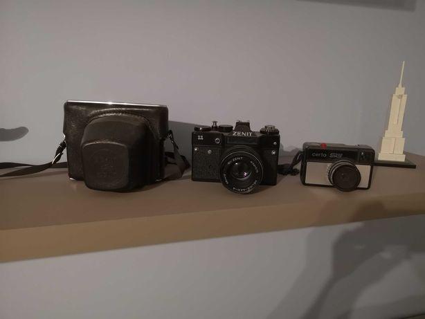 3 aparaty 2 x zenit oraz certo