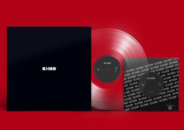 Рок Группа Кино, « Черный альбом» винил, cd
