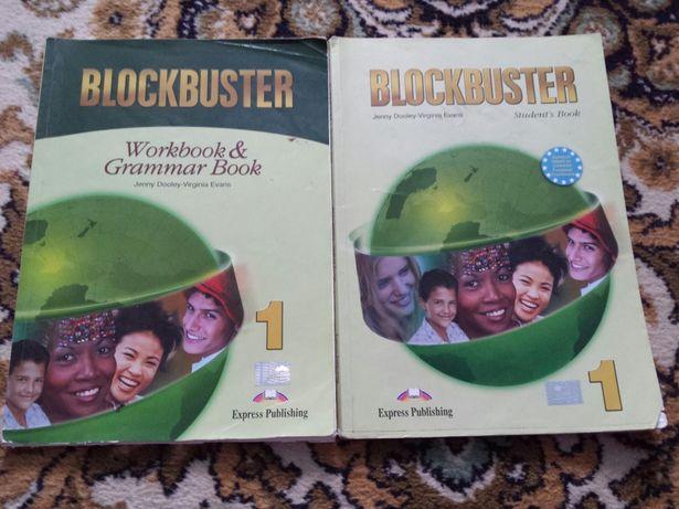 Підручники з англійської мови Blockbuster 1 SB і WB & Grammar Book