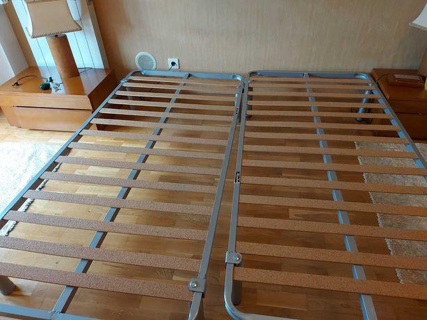 2 somier 90/190 individuais ou para cama de casal
