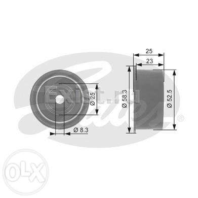 Ролик Gates Power Grip T42076 Opel astra