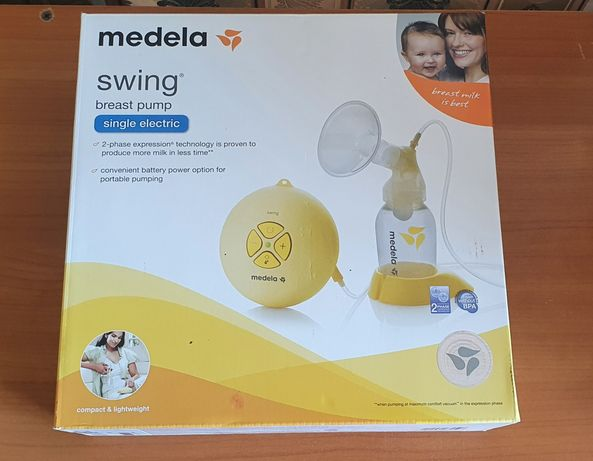 Электронный молокоотсос Medela Swing.