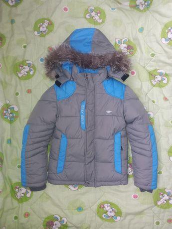 Зимняя Тёплая куртка на мальчика!