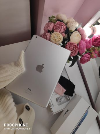iPad Air w kolorze srebrnym