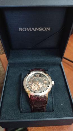 Часы Romanson PB2609RMR2T BK механика (серд.)