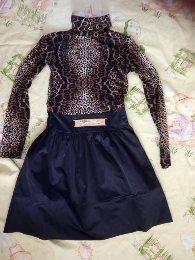 Платье юбка для школы