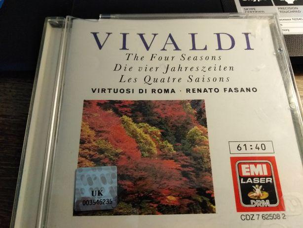Vivaldi, The Four Seasons, Cztery Pory Roku, CD EMI