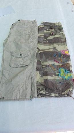 Calças bolsos