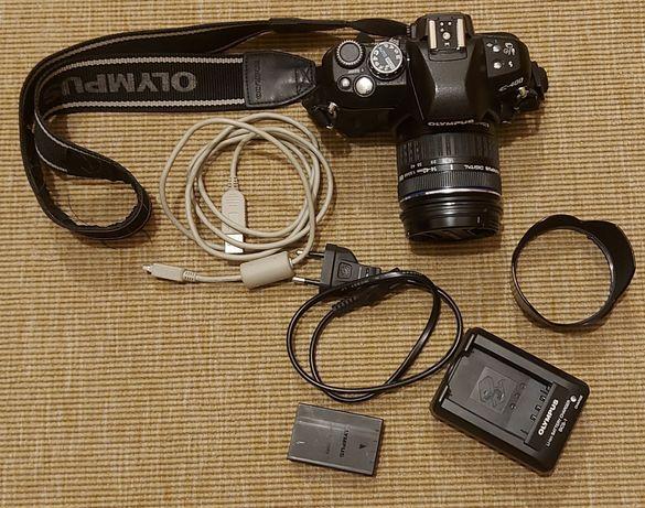Máquina fotográfica reflex Olympus E-400 10 megapixeis