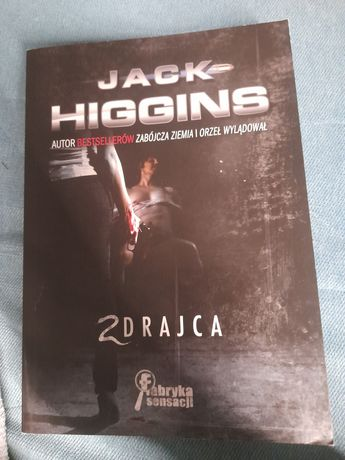 Zdrajca Jack Higgins książka