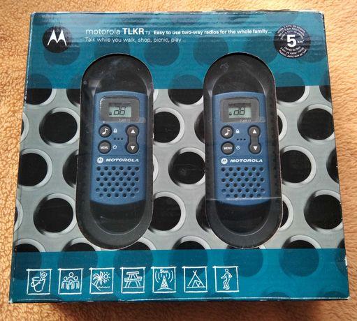 Радиостанция (Рация) Motorola TLKR T3