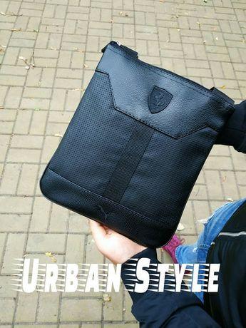 Мужская Сумка /сумка Puma Ferrari через плечо /бананка сумка барсетка