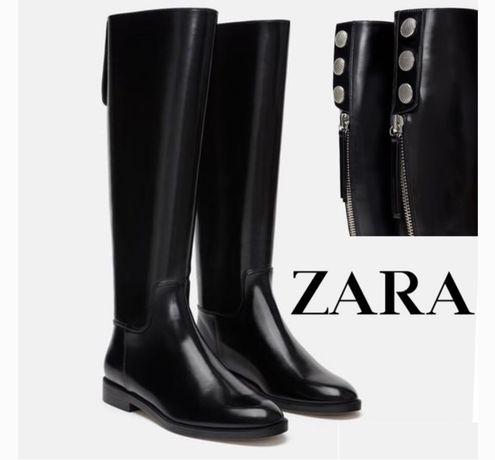 Zara сапоги