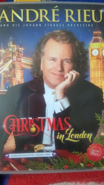 Andre Rieu Christmas in London and his Johann Strauss Orchestra