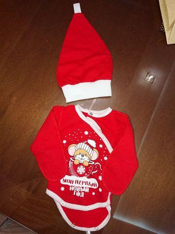 Костюм карнавальный новогодний для новорожденного