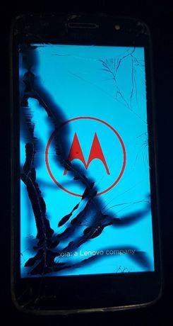 Motorola Moto G5S DUAL SIM Lunar Grey 3/32GB, sprawny, popękana szybka