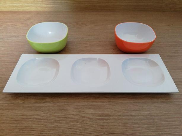 OFERTA Tigelas pequenas e taça em plástico