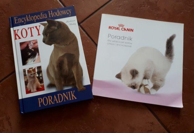 Dwa poradniki dla włascicieli kotów