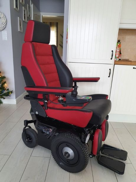 Wózek inwalidzki elektryczny z windą Etac Balder