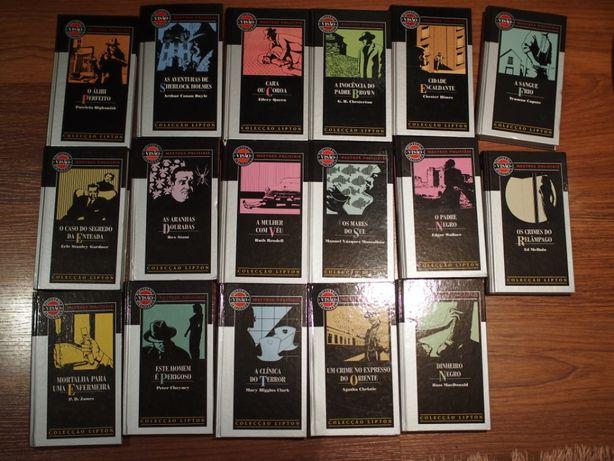 """Coleção de livros """"Mestres Policiais"""""""