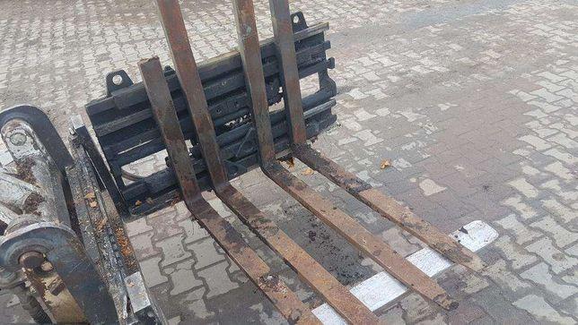Paletyzer pozycjoner wózek widłowy ładowarka 2T wysoki hydrauliczny