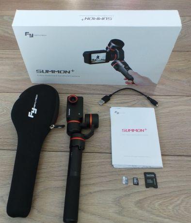 PILNE! Idealna kamera z GIMBALEM FeiyuTech Summon+ 2x MicroSD OKAZJA!!