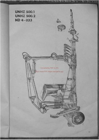Katalog części Ładowacz UNHZ 500.1, 500.2