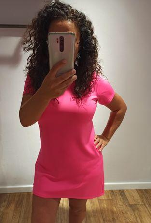 Sukienka neonowa Adika roz 40