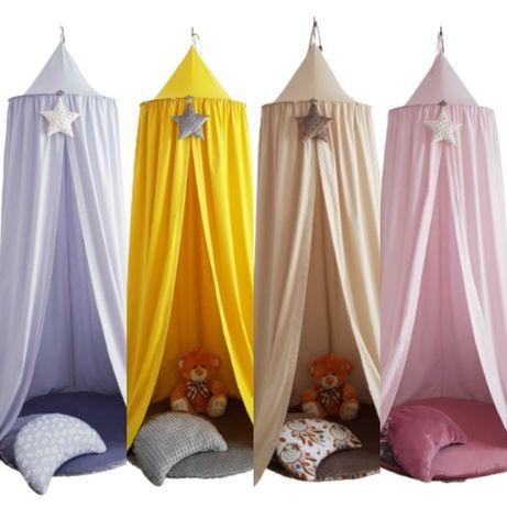 Baldachim TIPI namiot wiszący 100% bawełna