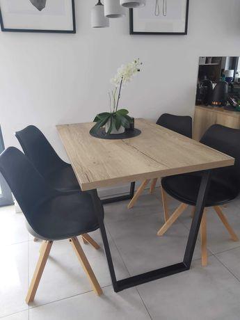 Krzesło loft czarne