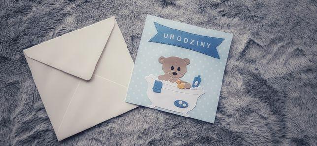 Kartka urodzinowa dla chłopczyka