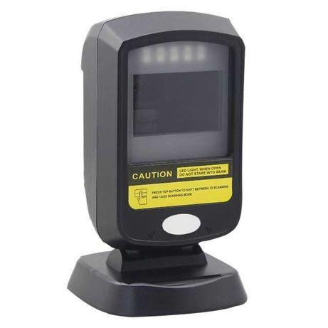 Стационарный настольный USB сканер линейных 1D/2D/QR кодов для маркета