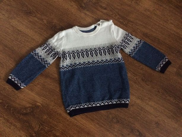 sweterek swetr HM 86cm