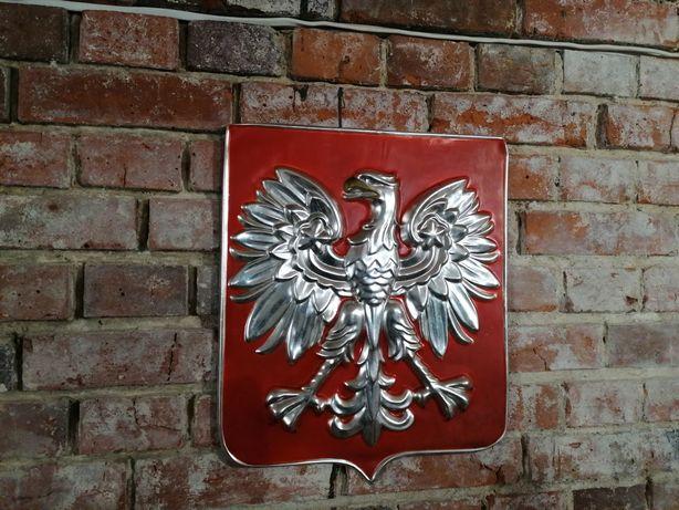 Stare Polskie godło z PRL, nierdzewka