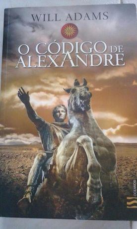 O código de Alexandre - Will Adams - Portes grátis