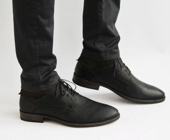 демисезонные кожаные ботинки Output . Geox, Lowa , Dockers