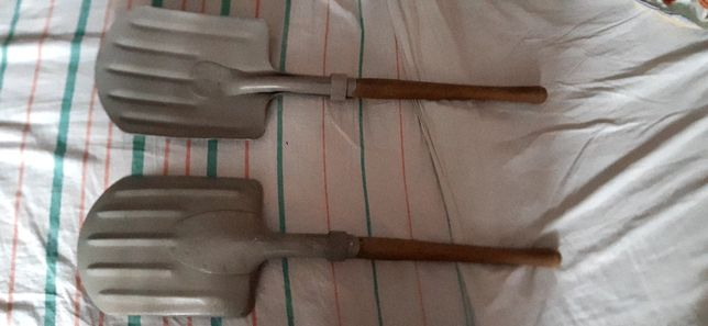 Лопата швейцарской армии лавинная с алюмениевым штыком 1939 год с покр