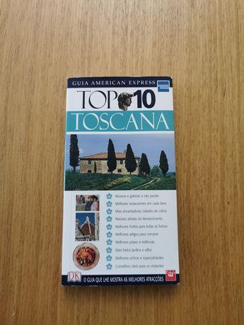 Livro turístico Toscana