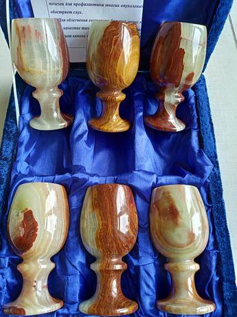 Набор бокалов из оникса