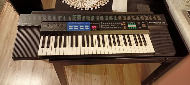 Keyboard Tonebank Casio CT-470